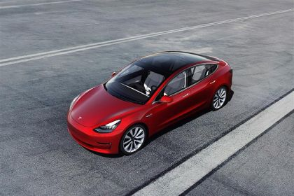 Tesla Model 3 Saloon 4Dr Elec 180KW 241PS Standard Range Plus 4Dr Auto